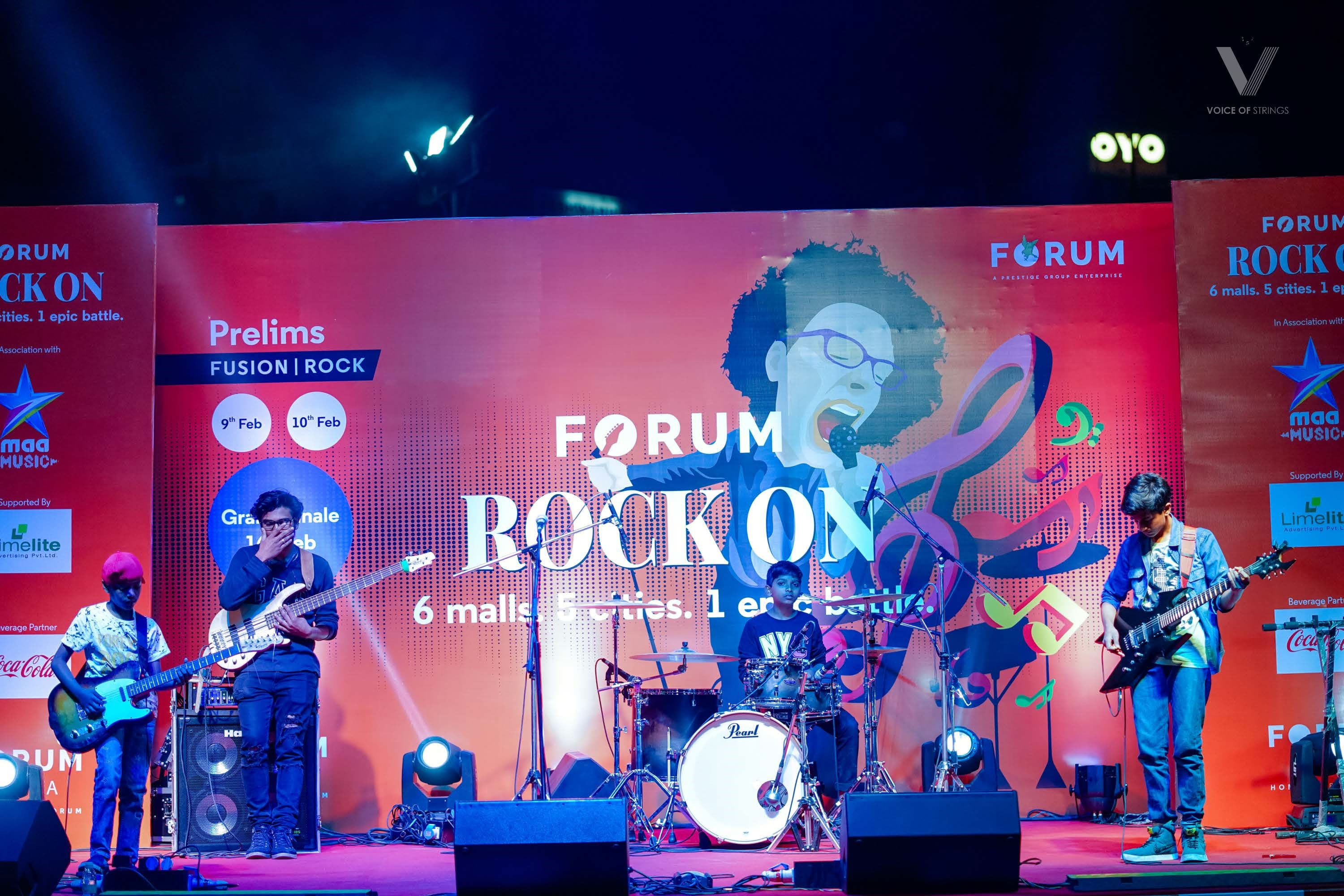 Rock On at Forum